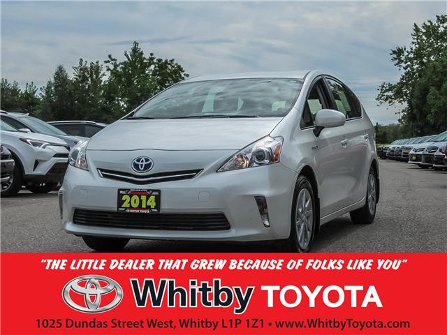 2014 Toyota Prius v Base (Stk: U8091) in Whitby - Image 1 of 21