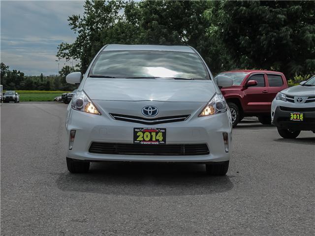 2014 Toyota Prius v Base (Stk: U8091) in Whitby - Image 2 of 21