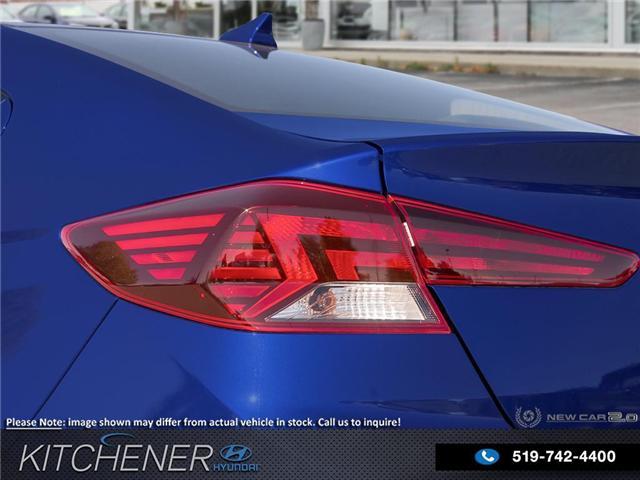 2019 Hyundai Elantra Preferred (Stk: 58491) in Kitchener - Image 11 of 23