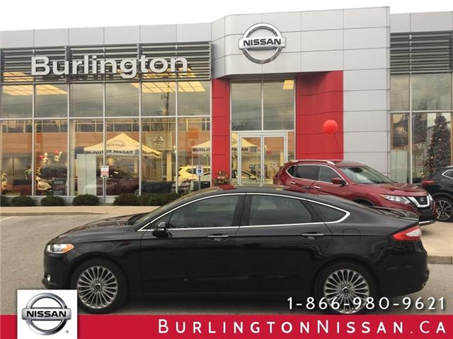 2014 Ford Fusion Titanium (Stk: Y5503A) in Burlington - Image 1 of 20