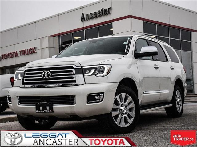 2018 Toyota Sequoia PLATINUM (Stk: 18616.) in Ancaster - Image 1 of 25