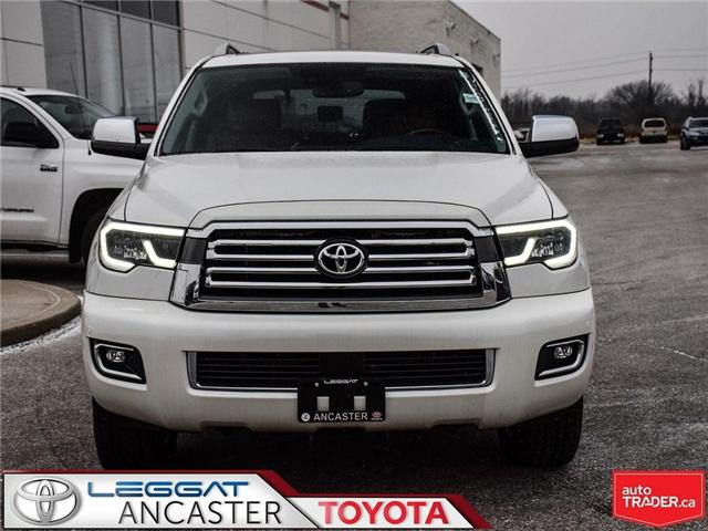 2018 Toyota Sequoia PLATINUM (Stk: 18616.) in Ancaster - Image 2 of 25