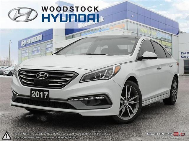 2017 Hyundai Sonata 2.0T Sport Ultimate (Stk: HD17102) in Woodstock - Image 1 of 22