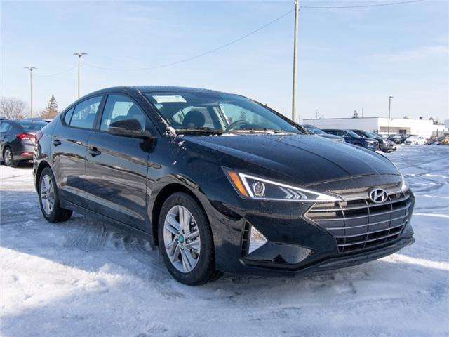 2019 Hyundai Elantra Preferred (Stk: R95459) in Ottawa - Image 1 of 9