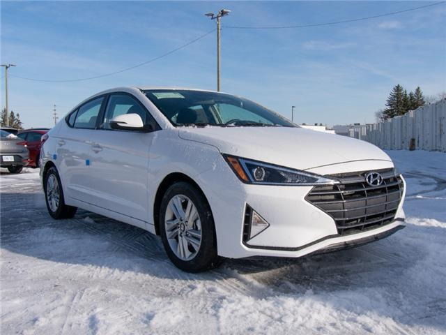 2019 Hyundai Elantra Preferred (Stk: R95135) in Ottawa - Image 1 of 9