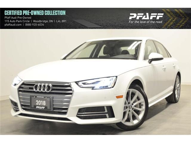 2018 Audi A4 2.0T Progressiv (Stk: C6435) in Woodbridge - Image 1 of 16