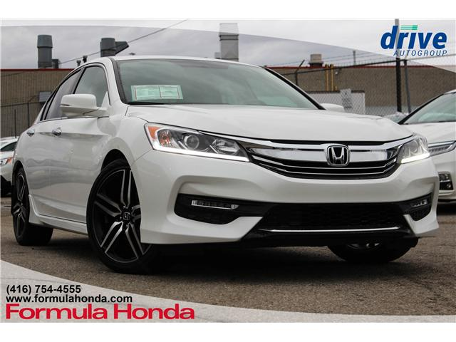 2017 Honda Accord Sport (Stk: B10813) in Scarborough - Image 1 of 31