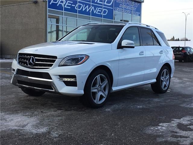 2015 Mercedes-Benz M-Class Base (Stk: K7692) in Calgary - Image 1 of 23