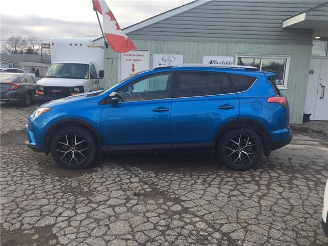 2016 Toyota RAV4 SE (Stk: -) in Kincardine - Image 2 of 13