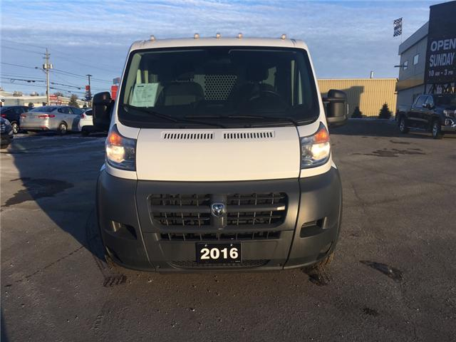 2016 RAM ProMaster 1500 Low Roof (Stk: 18695) in Sudbury - Image 2 of 15