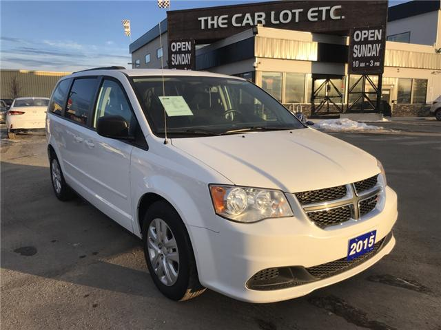 2015 Dodge Grand Caravan Crew (Stk: 17747) in Sudbury - Image 1 of 15
