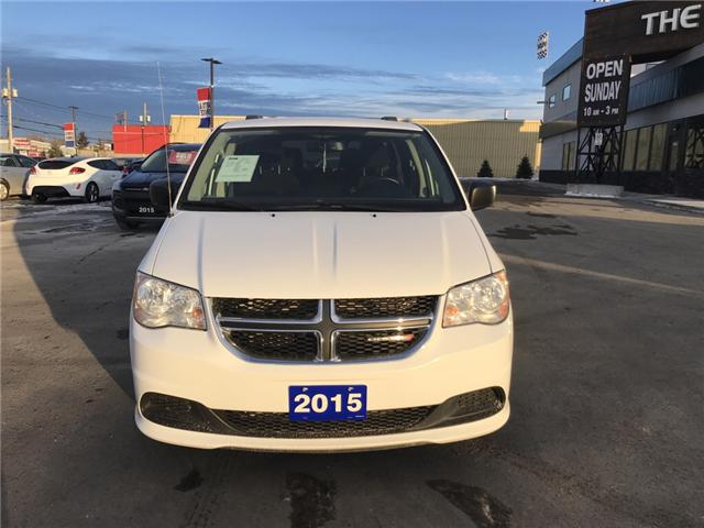 2015 Dodge Grand Caravan Crew (Stk: 17747) in Sudbury - Image 2 of 15