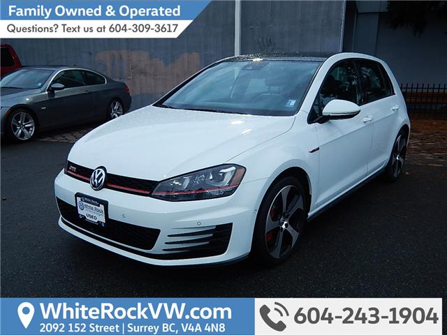 2016 Volkswagen Golf GTI 5-Door Performance (Stk: VW0763) in Surrey - Image 1 of 22