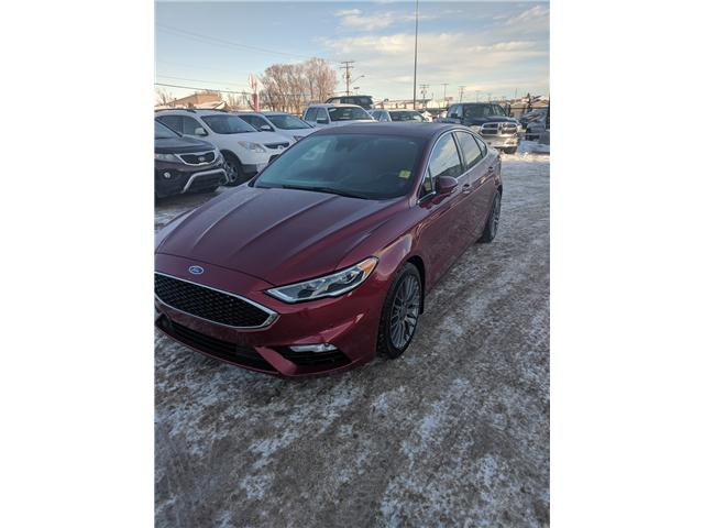 2017 Ford Fusion V6 Sport (Stk: 39022A) in Prince Albert - Image 1 of 14