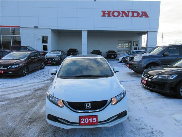 2015 Honda Civic EX (Stk: 26396L) in Ottawa - Image 2 of 10