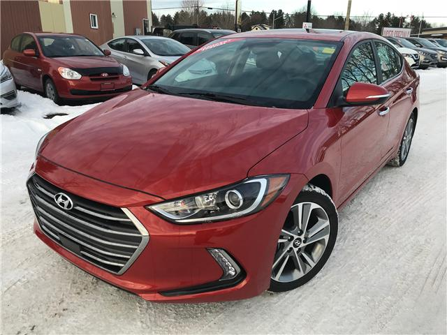 2017 Hyundai Elantra Limited SE (Stk: 17584) in Pembroke - Image 1 of 20