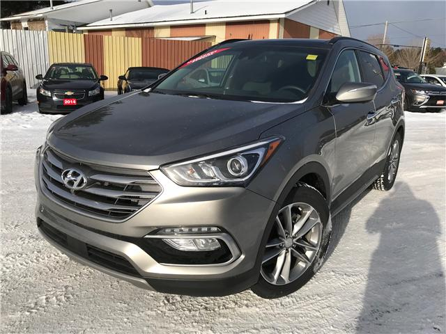 2017 Hyundai Santa Fe Sport 2.0T Ultimate (Stk: 17507) in Pembroke - Image 1 of 19