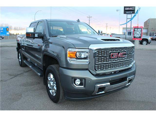 2018 GMC Sierra 3500HD Denali (Stk: 158467) in Medicine Hat - Image 1 of 19
