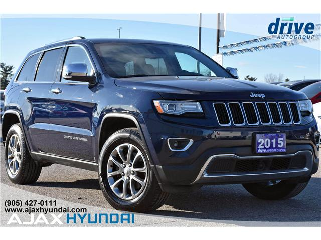 2015 Jeep Grand Cherokee Limited (Stk: 180005A) in Ajax - Image 1 of 28