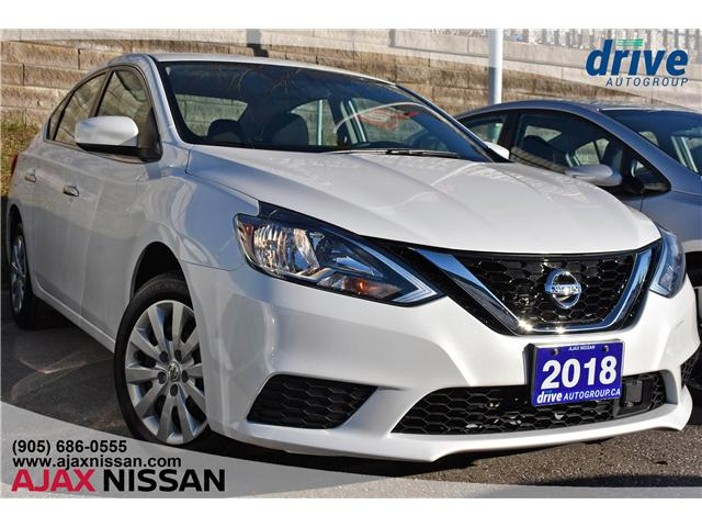 2018 Nissan Sentra 1.8 S (Stk: P4056) in Ajax - Image 1 of 21