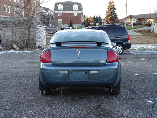 2007 Pontiac G5 SE (Stk: ) in Oshawa - Image 4 of 11