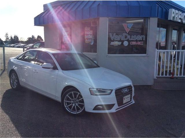 2014 Audi A4 2.0 Progressiv (Stk: B7247A) in Ajax - Image 1 of 24