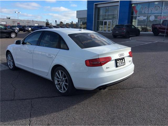 2014 Audi A4 2.0 Progressiv (Stk: B7247A) in Ajax - Image 18 of 24