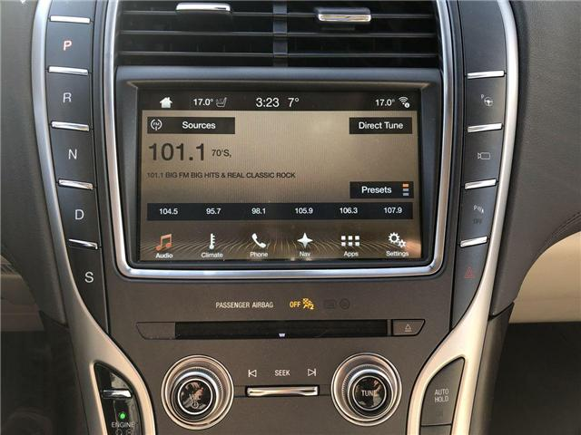 2018 Lincoln MKX Reserve (Stk: LX18974A) in Barrie - Image 9 of 25
