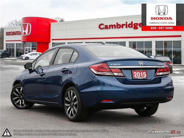 2015 Honda Civic Touring (Stk: 19291A) in Cambridge - Image 4 of 27
