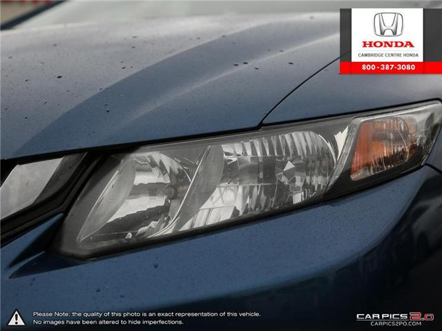 2015 Honda Civic Touring (Stk: 19291A) in Cambridge - Image 10 of 27