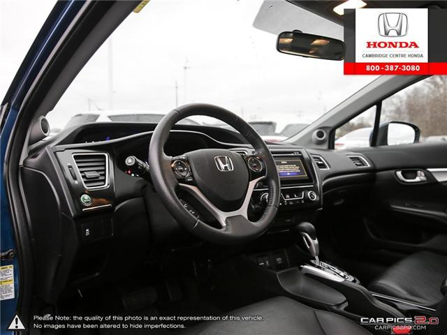 2015 Honda Civic Touring (Stk: 19291A) in Cambridge - Image 13 of 27