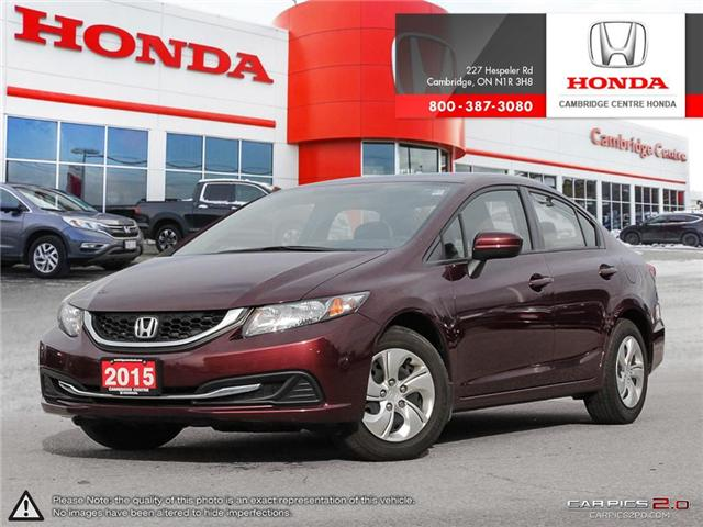 2015 Honda Civic LX (Stk: U4919) in Cambridge - Image 1 of 27