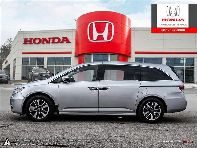 2015 Honda Odyssey Touring (Stk: 19099A) in Cambridge - Image 3 of 27