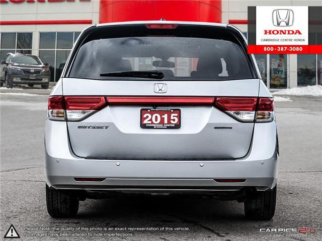 2015 Honda Odyssey Touring (Stk: 19099A) in Cambridge - Image 5 of 27