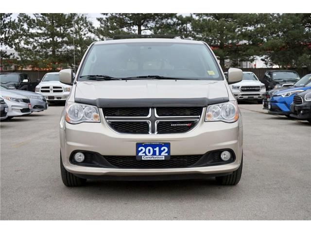 2012 Dodge Grand Caravan CREW| POWER DOORS/TAILGATE| TRAILER TOW GRP (Stk: J296A) in Burlington - Image 2 of 30