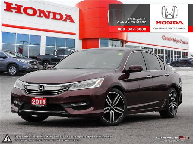 2016 Honda Accord Touring (Stk: 19158A) in Cambridge - Image 1 of 27