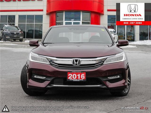 2016 Honda Accord Touring (Stk: 19158A) in Cambridge - Image 2 of 27