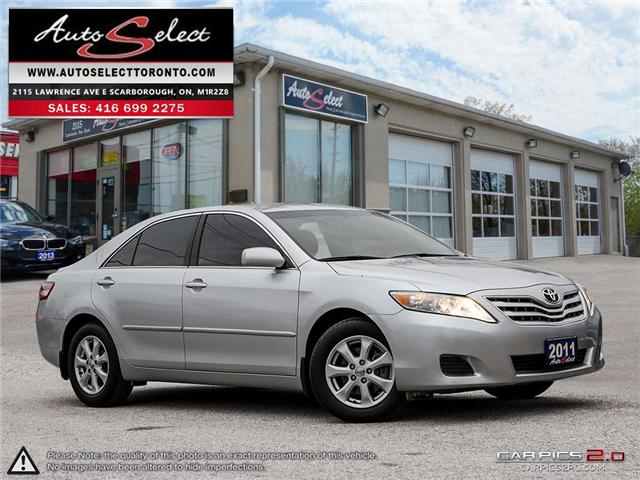 2011 Toyota Camry  (Stk: 11TOYORY) in Scarborough - Image 1 of 28