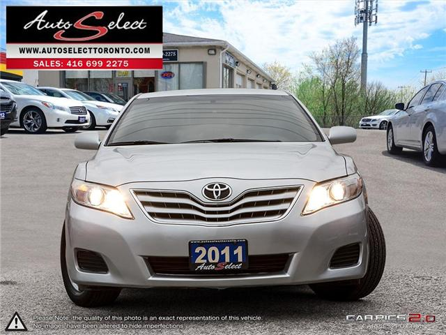 2011 Toyota Camry  (Stk: 11TOYORY) in Scarborough - Image 2 of 28