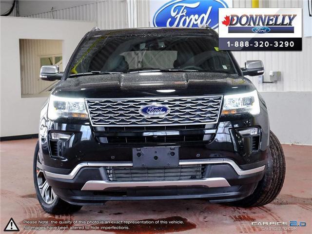 2019 Ford Explorer Platinum (Stk: DS208) in Ottawa - Image 2 of 27
