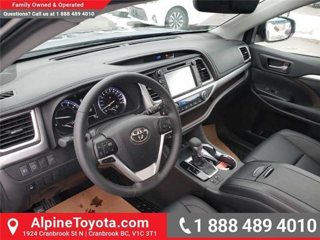 2019 Toyota Highlander XLE (Stk: S941831) in Cranbrook - Image 9 of 17