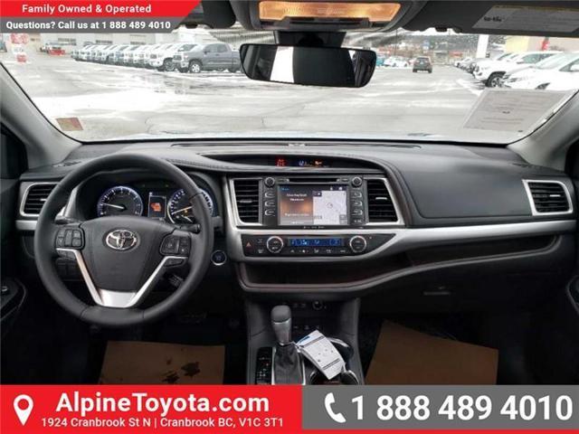 2019 Toyota Highlander XLE (Stk: S941831) in Cranbrook - Image 10 of 17