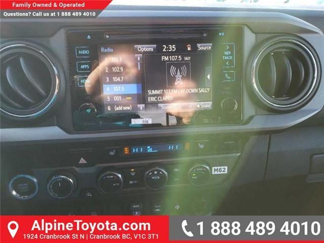 2019 Toyota Tacoma SR5 V6 (Stk: X040336) in Cranbrook - Image 12 of 13