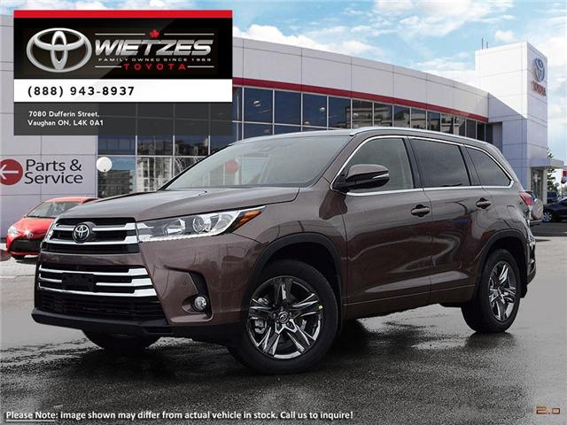 2019 Toyota Highlander Limited AWD (Stk: 67878) in Vaughan - Image 1 of 24
