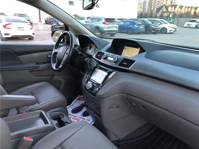 2017 Honda Odyssey Touring (Stk: 190092P) in Richmond Hill - Image 7 of 27
