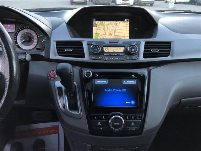 2017 Honda Odyssey Touring (Stk: 190092P) in Richmond Hill - Image 9 of 27