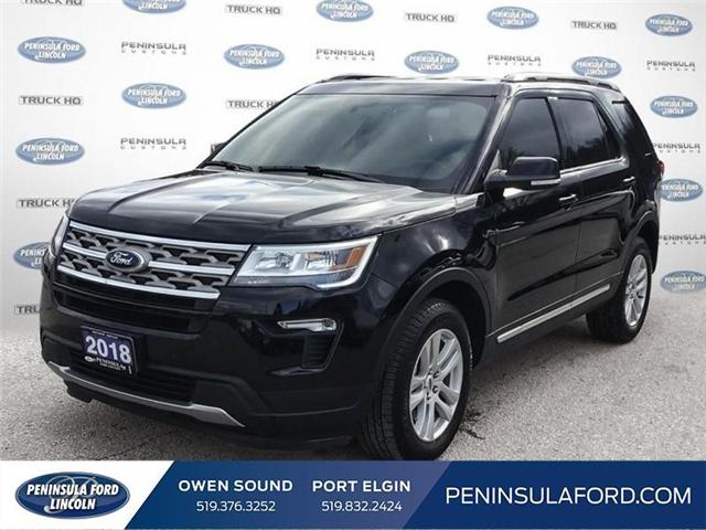 2018 Ford Explorer XLT (Stk: 18FE548B) in Owen Sound - Image 1 of 24