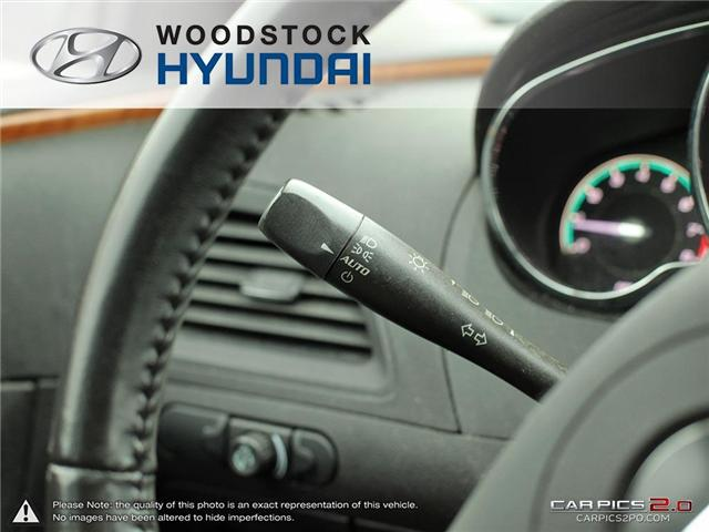 2011 Chevrolet Malibu LT Platinum Edition (Stk: TN18008A) in Woodstock - Image 10 of 27