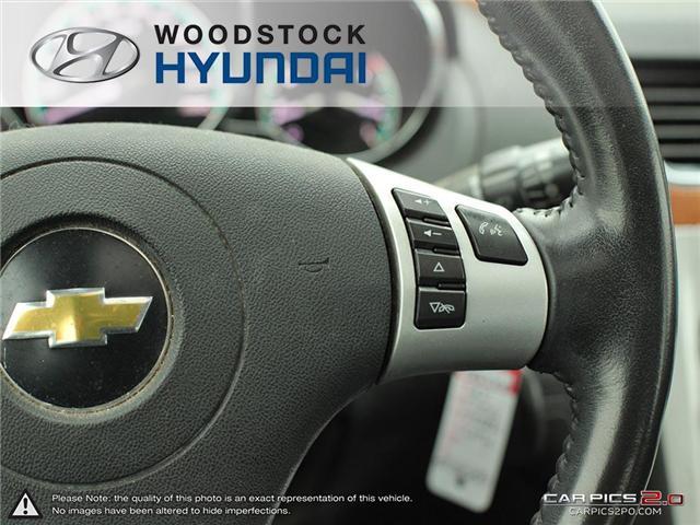 2011 Chevrolet Malibu LT Platinum Edition (Stk: TN18008A) in Woodstock - Image 11 of 27