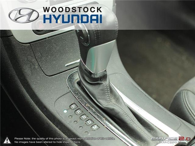 2011 Chevrolet Malibu LT Platinum Edition (Stk: TN18008A) in Woodstock - Image 15 of 27